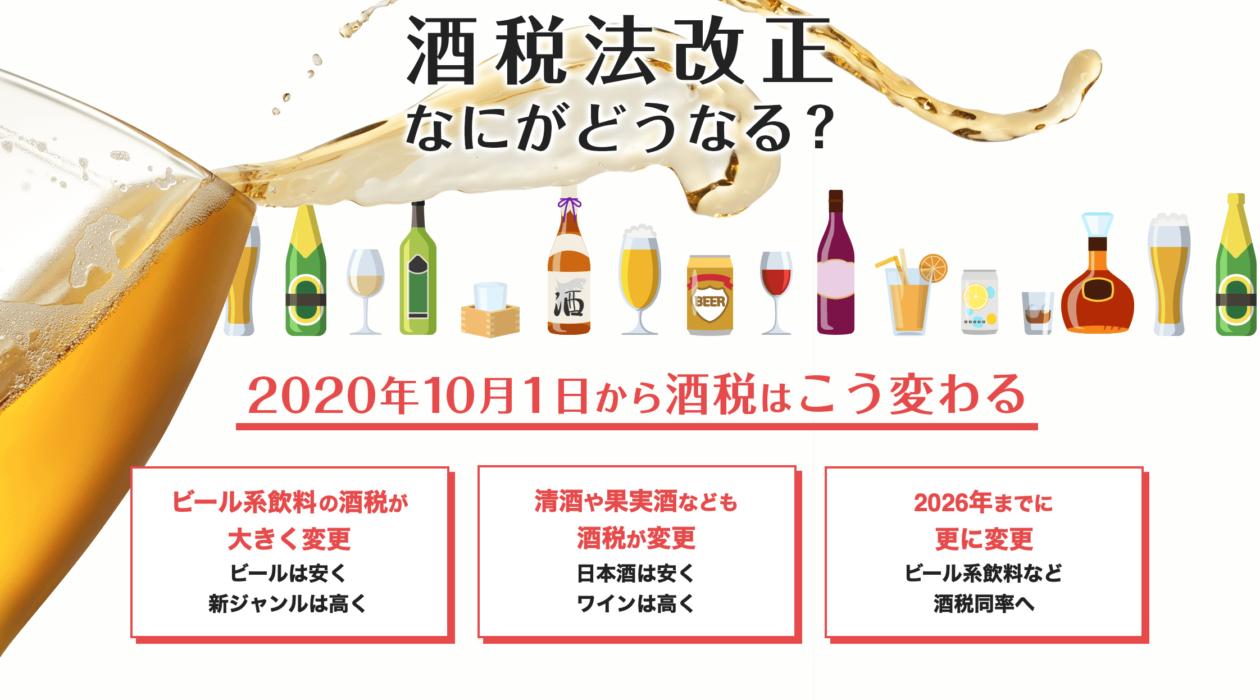 税法 改正 酒